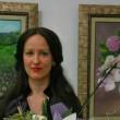 Изследовател на HIV вируса подрежда живопис