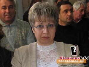 Теменужка Люцканова - за трети път кмет на град Крън