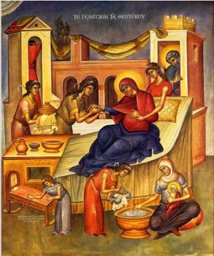 Празник на Мария. Малка Богородица е