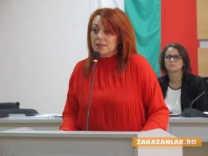 Гинка Щерева стана за втори път обществен посредник на Казанлък