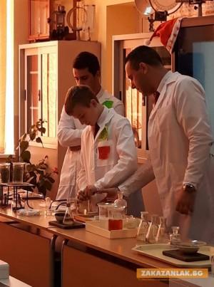 Модерен кабинет по химия и физика откриха в Мехатотехникума