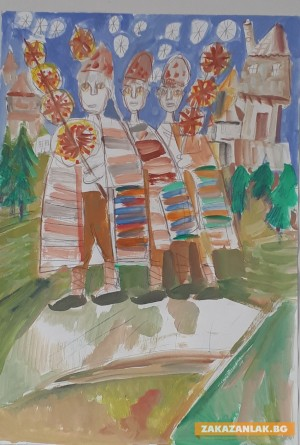 Възпитаници на Румен Рачев подредиха първа изложба
