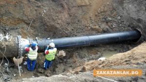 Сериозни инвестиции във водопроводната мрежа в Казанлък