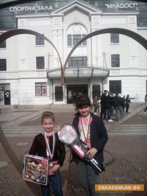 Победни серии на малките казанлъшки шахматисти