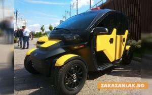 """Концернът """"Калашников"""" създаде електрическо такси. Без багажник"""