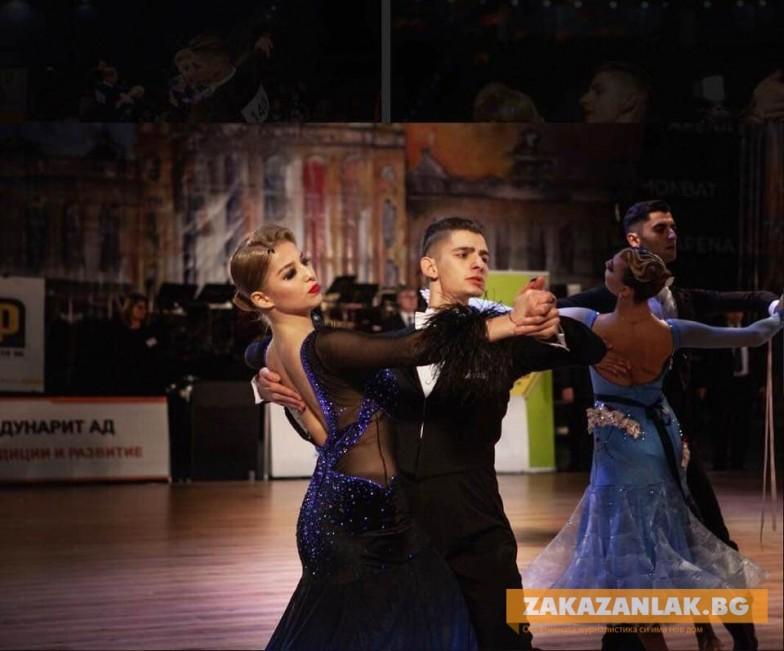 Успех на танцьорите Стоян Петров - Елис Табакова