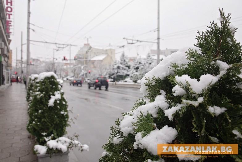 Община Казанлък: Няма хаос. Става дума за усложнена пътна обстановка