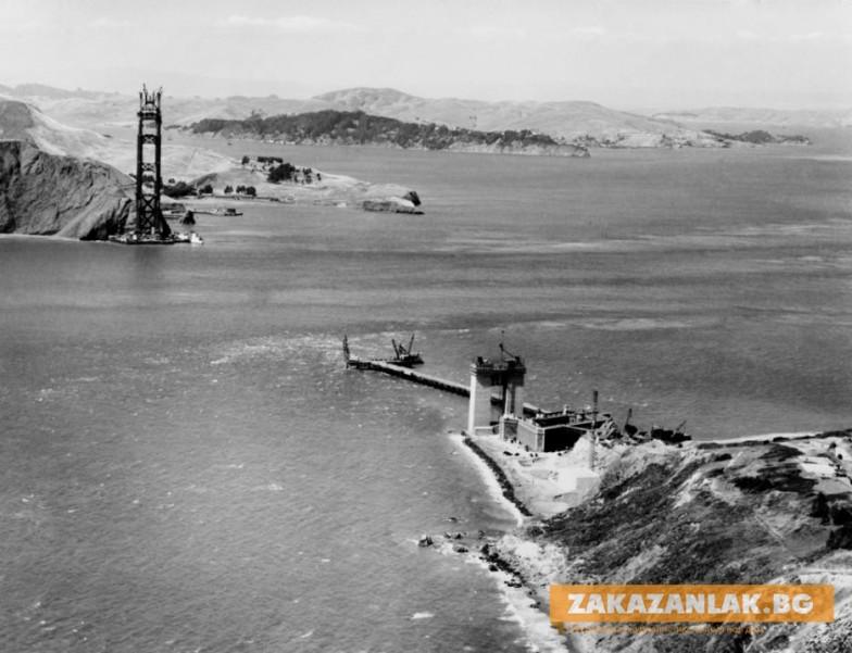 На 85 години става първата копка на най- дългия мост в света