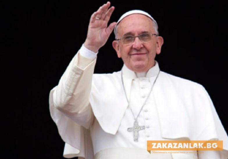 Първо причастие за българчета от папа Франциск