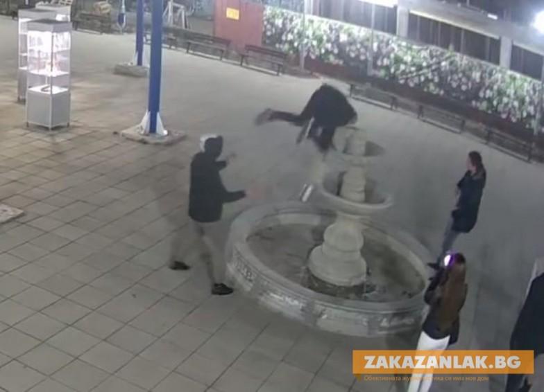 От по- горна инстанция: Без  наказателна  отговорност за счупения градски фонтан