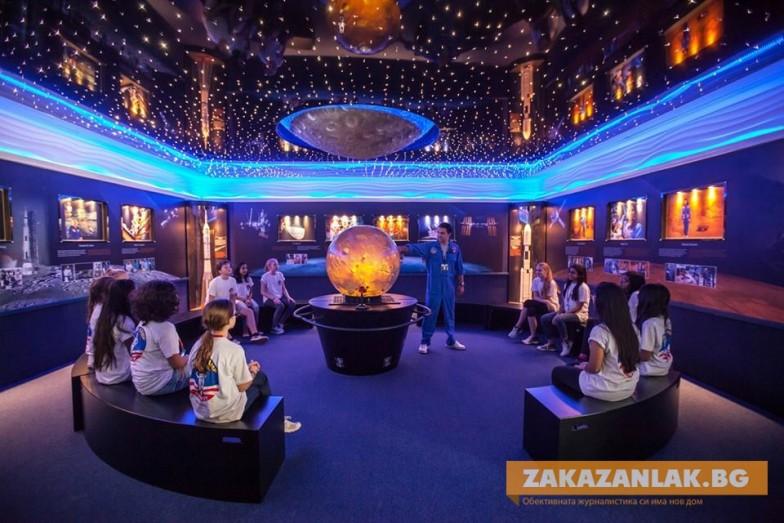 2 казанлъшки деца заминават на космически лагер