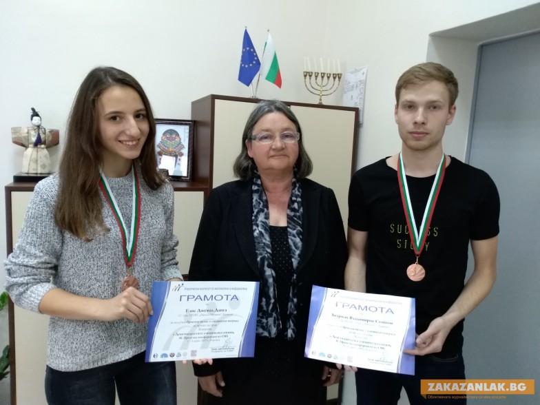 Ученици от Математическата  създадоха сайт  за матурата по български език