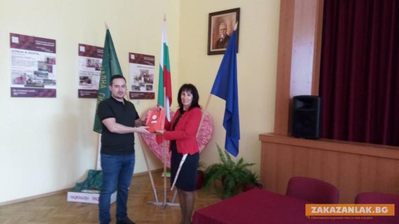 """1000 лева стипендия за активен """"Хаджиеновец"""""""