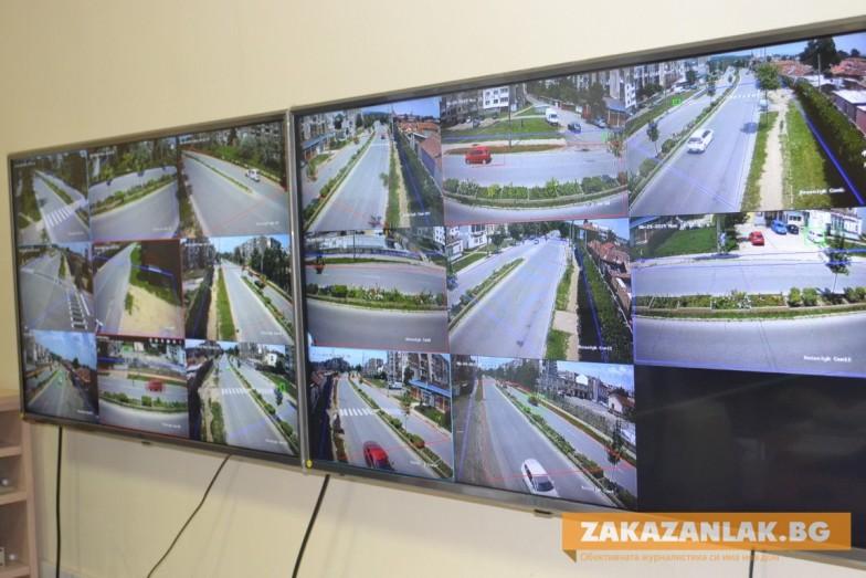 Нови камери за повече сигурност в Казанлък
