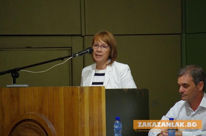 Номинираха Галина Стоянова за трети мандат кмет на Казанлък