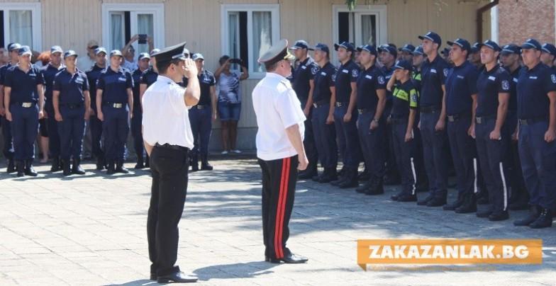 Иракски полицаи на обучение в Казанлък