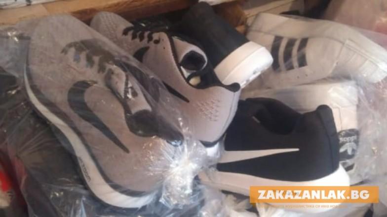 В Казанлък иззеха 278 спортни стоки менте