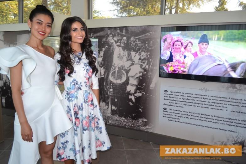 Посрещнаха Мис Китай в българския град на розите
