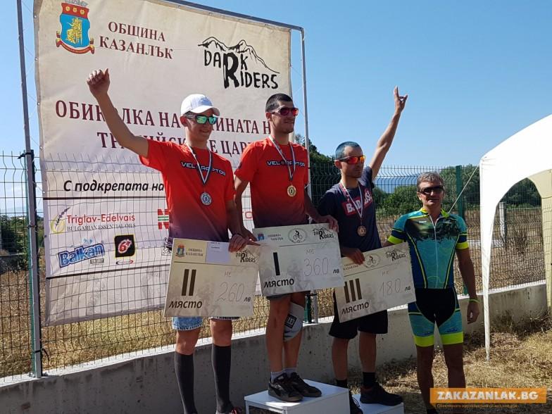 Александър Алексиев победи в първата колоездачна обиколка на Долината