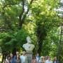 "Вдигат паметник на Христо Ботев в парк ""Розариум"""