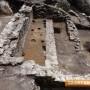 Разкрити са крепостните стени и църквата на Бузово кале