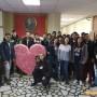 Мехатрончици посрещнаха Свети Валентин с огромно сърце