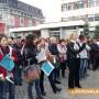 Медицинските специалисти в Казанлък продължават с протеста