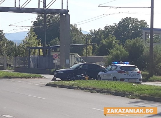 Пострада мотоциклетист от Бузовград