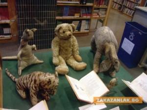 Приключенията на играчките в библиотеката