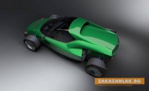 Тайванският електромобил с 1 мегават мощност е по-бърз от Tesla Roadster