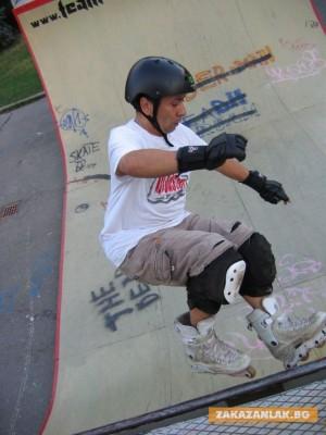 Състезание с ролери и скейтборд събира деца и младежи в неделя