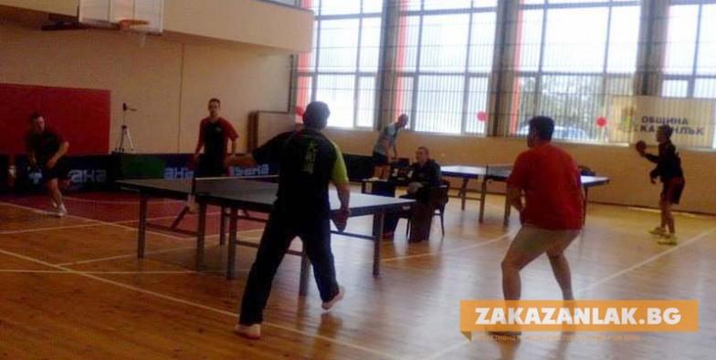 """Стадион """"Севтополис""""  домакинства турнир по тенис на маса"""