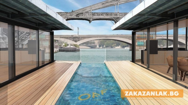Уикенд в Париж: Плаващ хотел на Сена предлага лукс и панорамни гледки