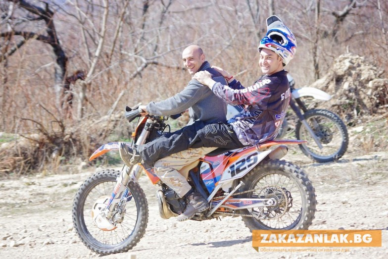 Ендуро кушия на железните коне с Борис Кърчев в 11:02