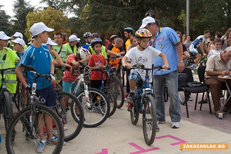 За 6-ти път детски колоездачен спортен празник в Казанлък