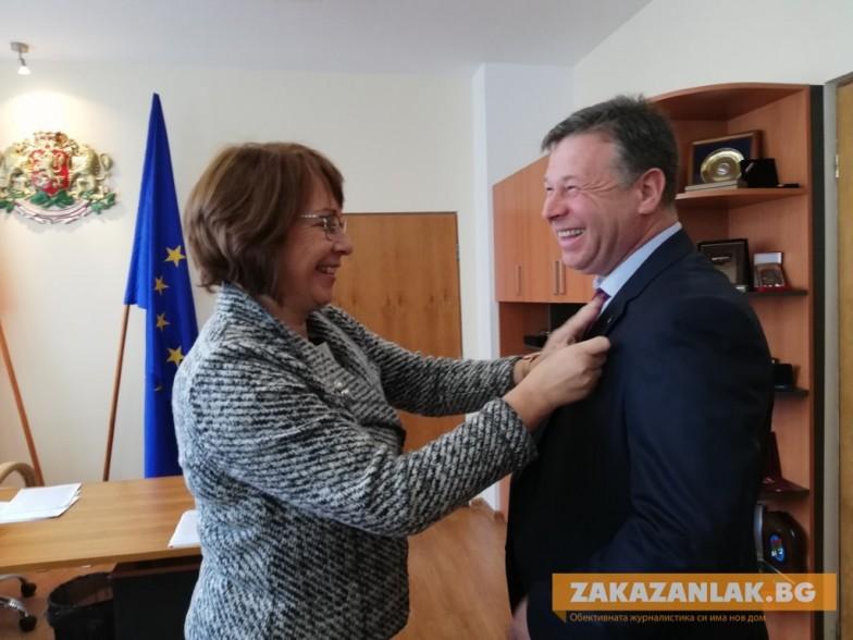 Община Казанлък с четвърти заместник-кмет