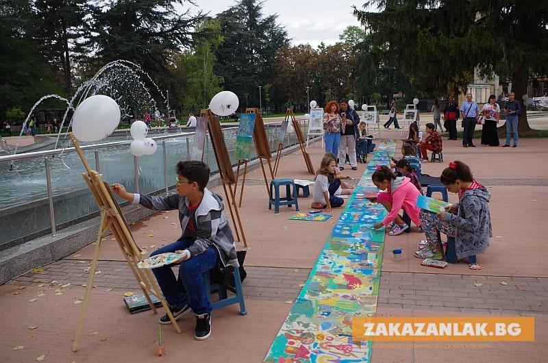Рисунки на деца  от Казанлък -  послание към участниците в Детската Евровизия да открият красотата и историята на България