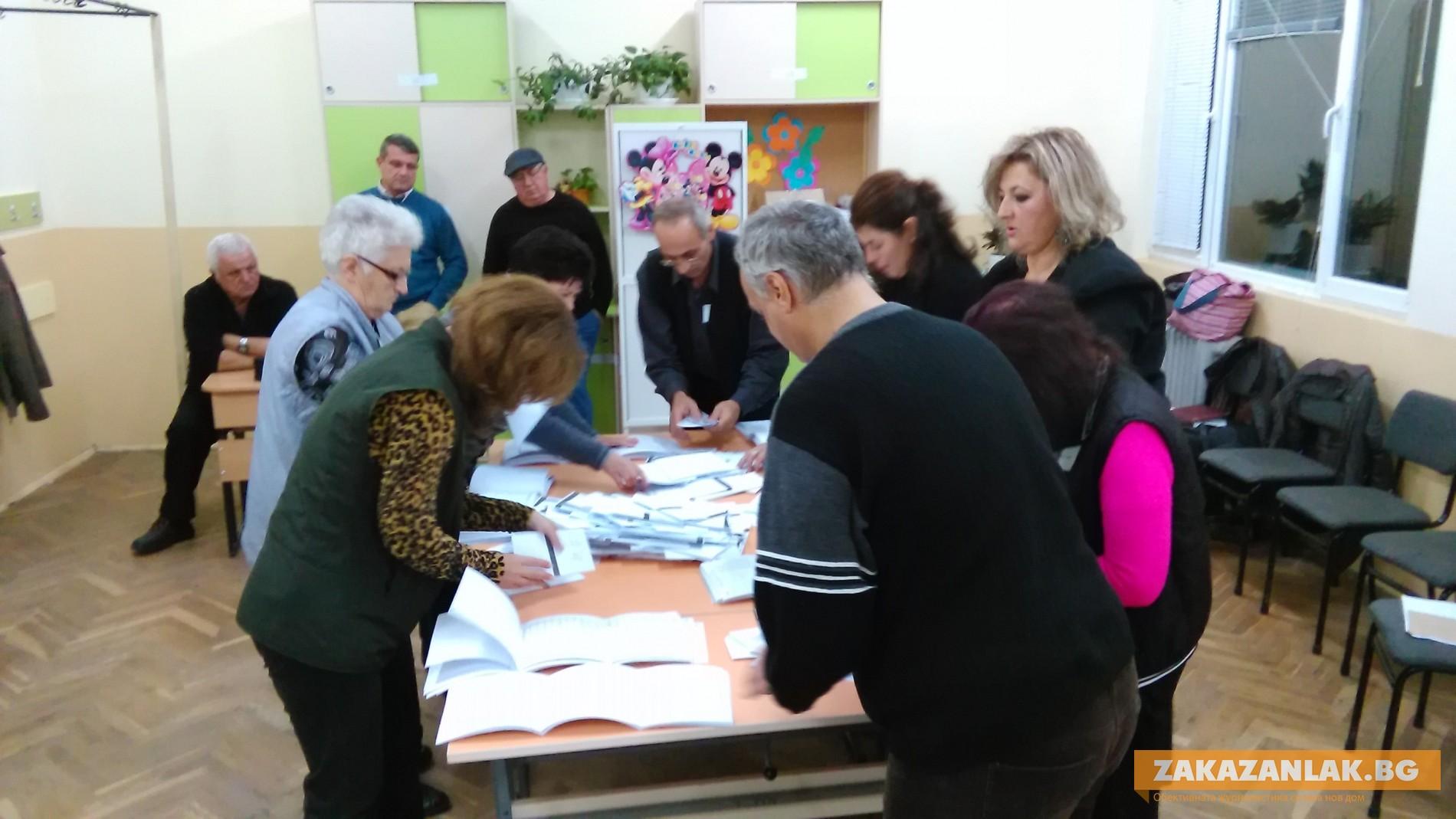 Изборите в Казанлък свършиха! Гласуваха 48,50% от избирателите