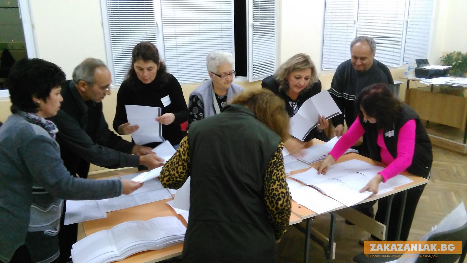 Окончателно: 53 %  гласуваха в областта в местния вот