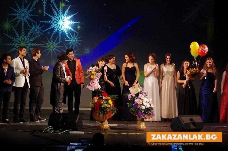 Коледа дойде с концерта на Надя Тончева и учениците й