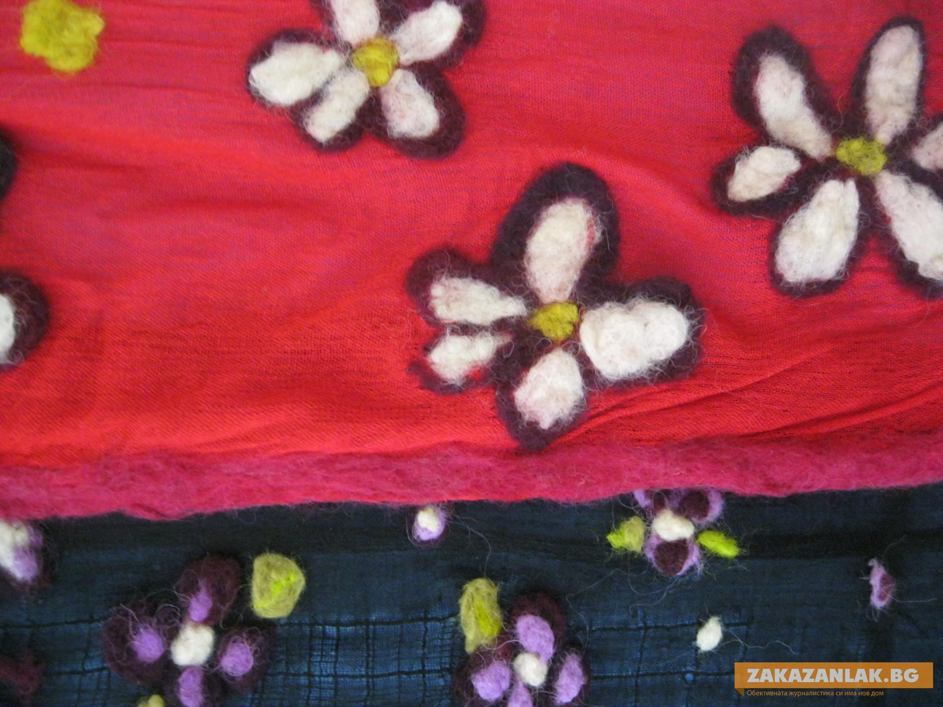 """""""За мама""""- изложба на шалове плъсти"""