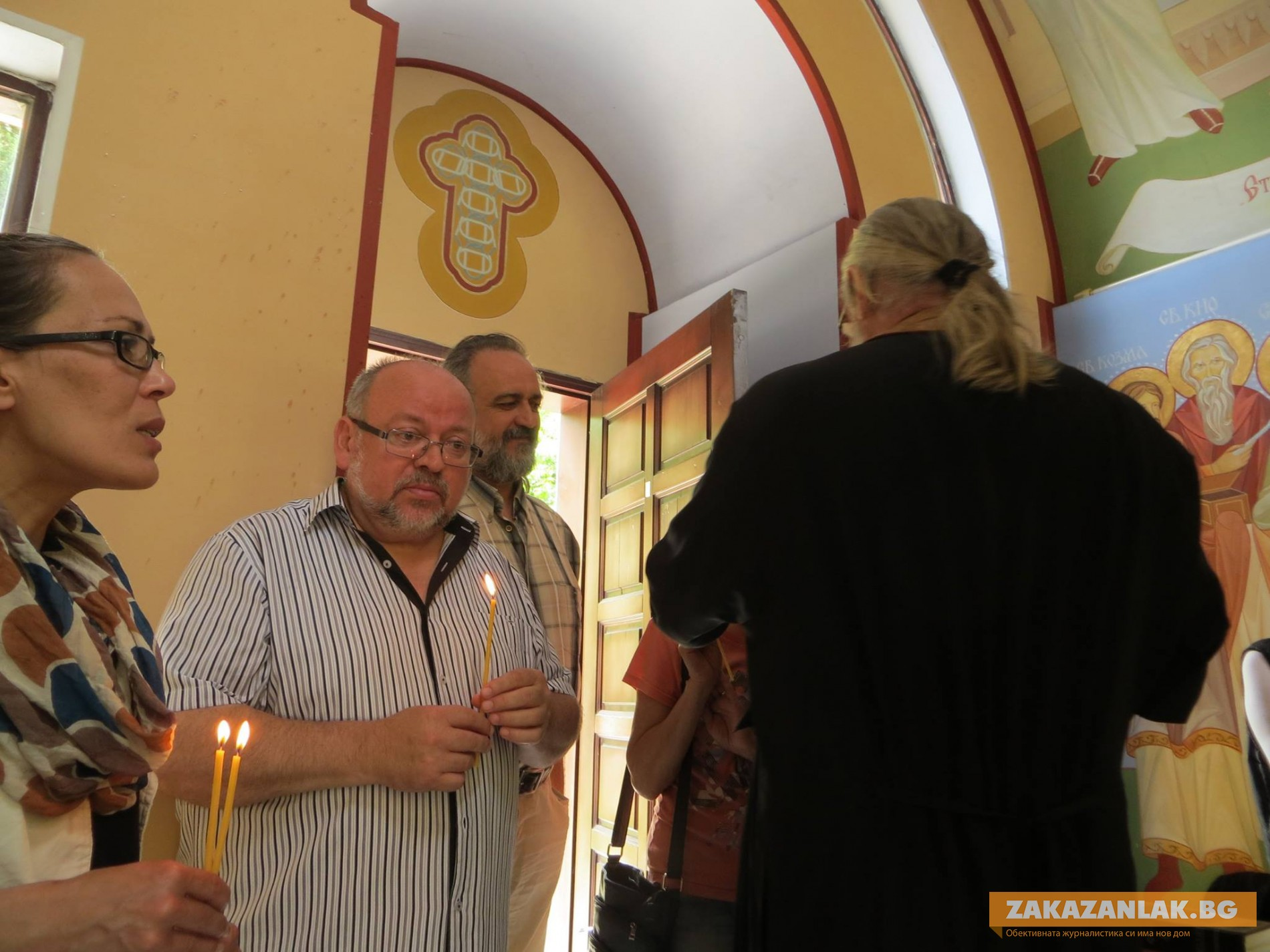"""Сам Господ Бог праща името на болничния параклис """"Света Анна"""""""