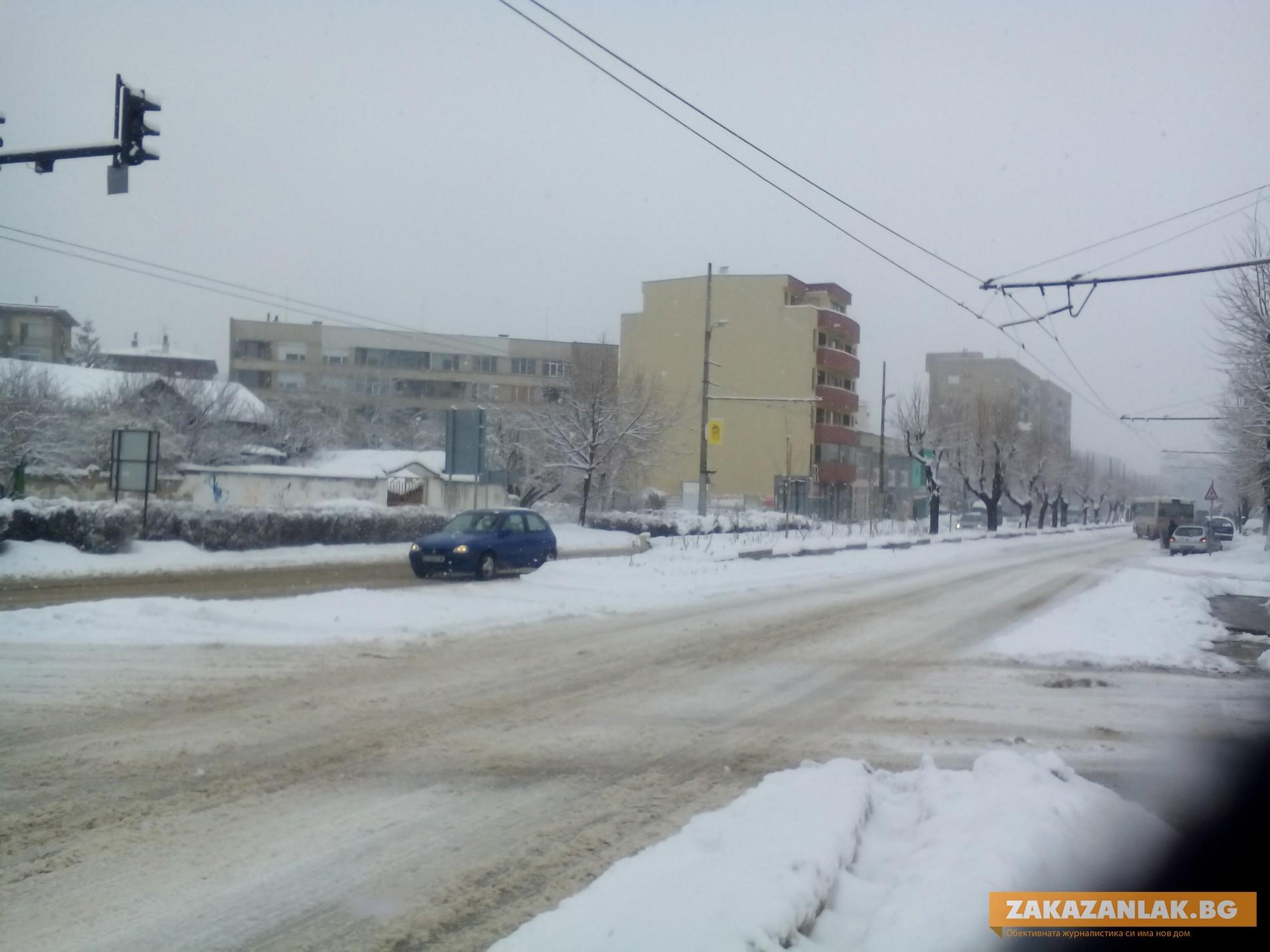 Кой  и как чисти снега в Казанлък пита общински съветник