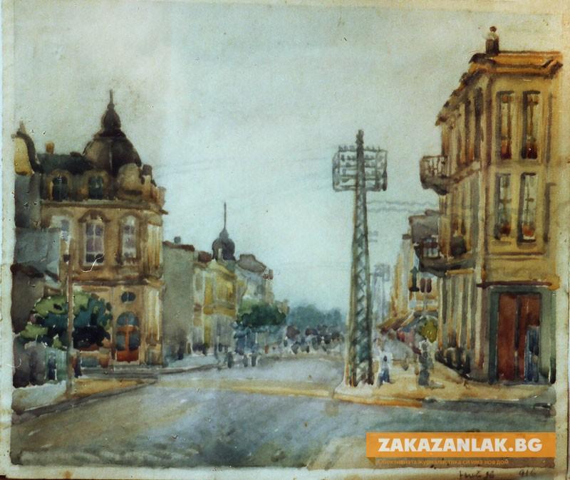 Родният Казанлък посреща творби на Иван Пенков