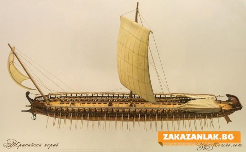 """Сглобяват тракийски боен кораб на язовир """"Копринка"""""""