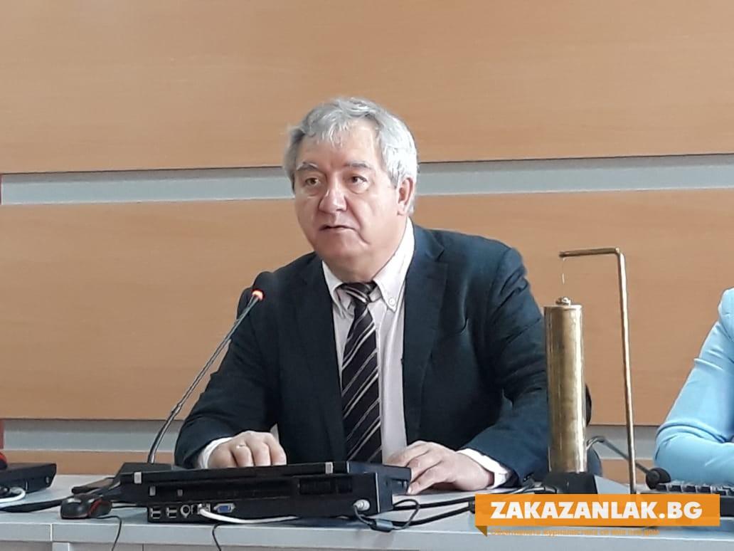 Благодарност от Почетния гражданин Николай Ибушев