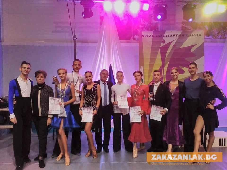 """Танцьорите на """"Роза"""" – с медали от турнира в Казанлък"""