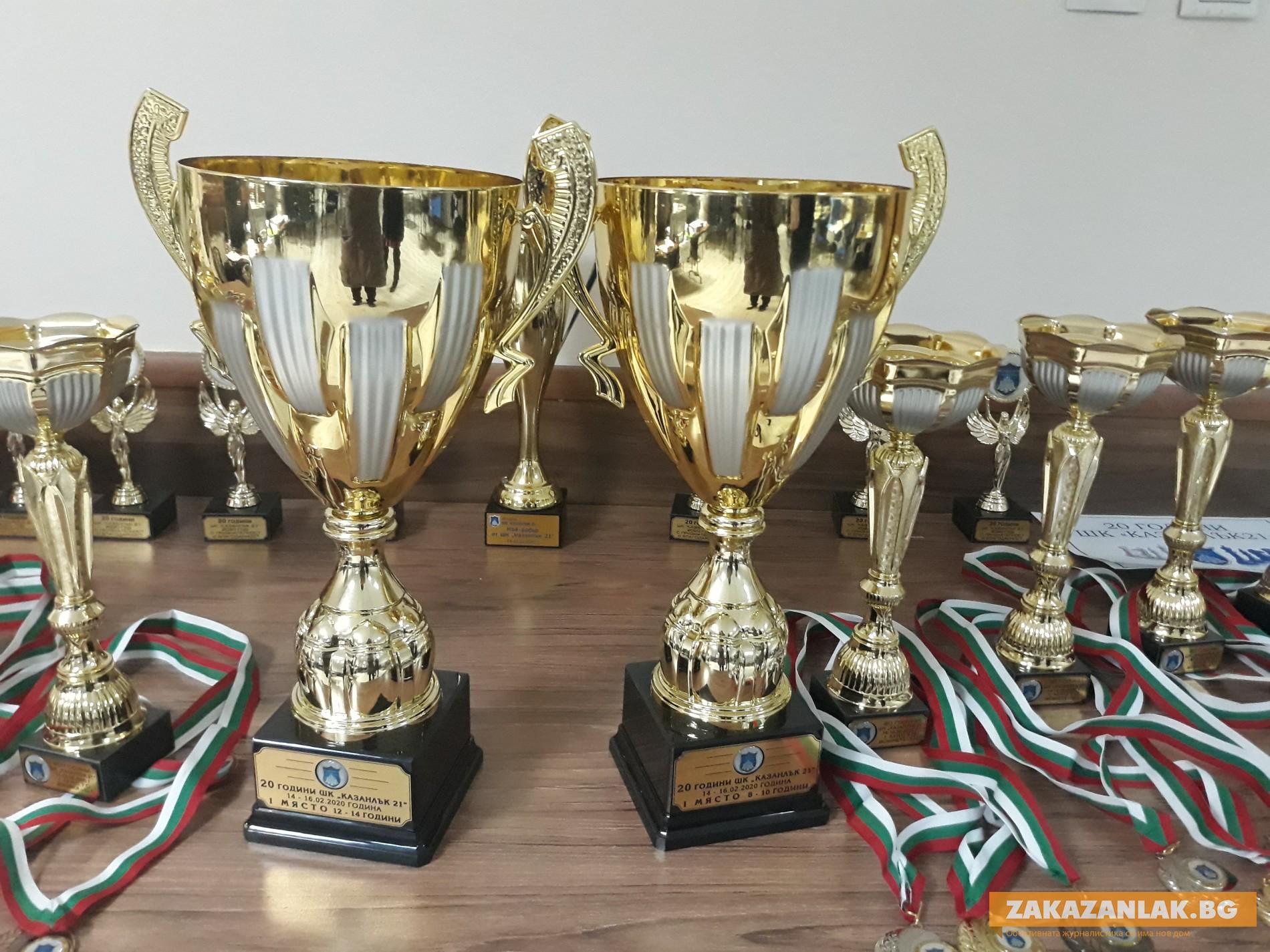 Силен турнир по шах събра в Казанлък деца от цяла България