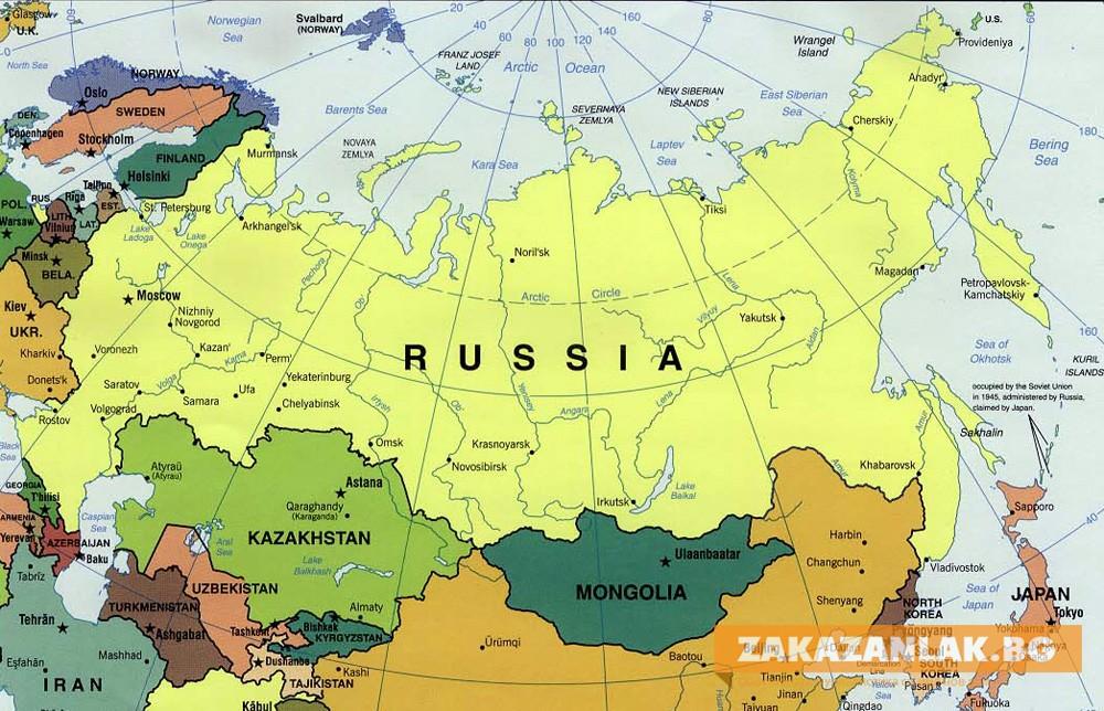 Заради епидемията Русия затваря границите си от 30 март