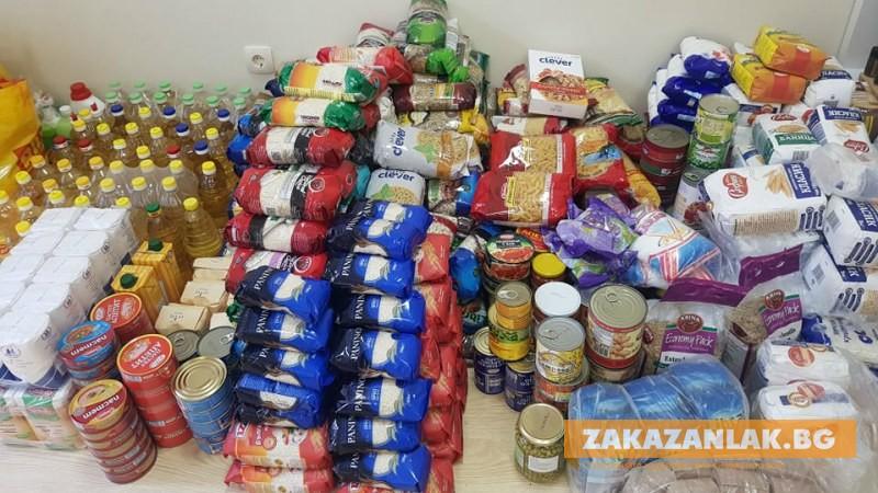 6 тона храни за най-нуждаещите се ще раздават в Казанлък